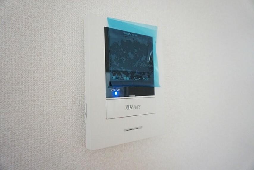 防犯設備 同形状・同仕様 防犯性、セキュリティ対策に安心できるテレビモニター付きインターフォンです。