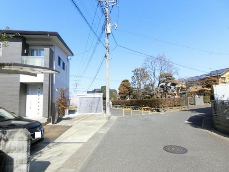 現況写真 住環境に配慮された第一種低層住居専用地域です。
