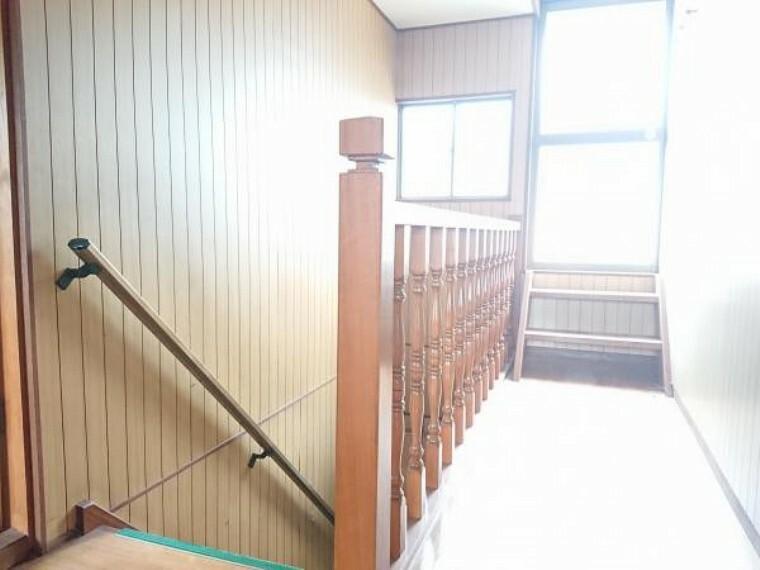 【リフォーム中】2階の廊下です。床、壁ともにリフォームします。