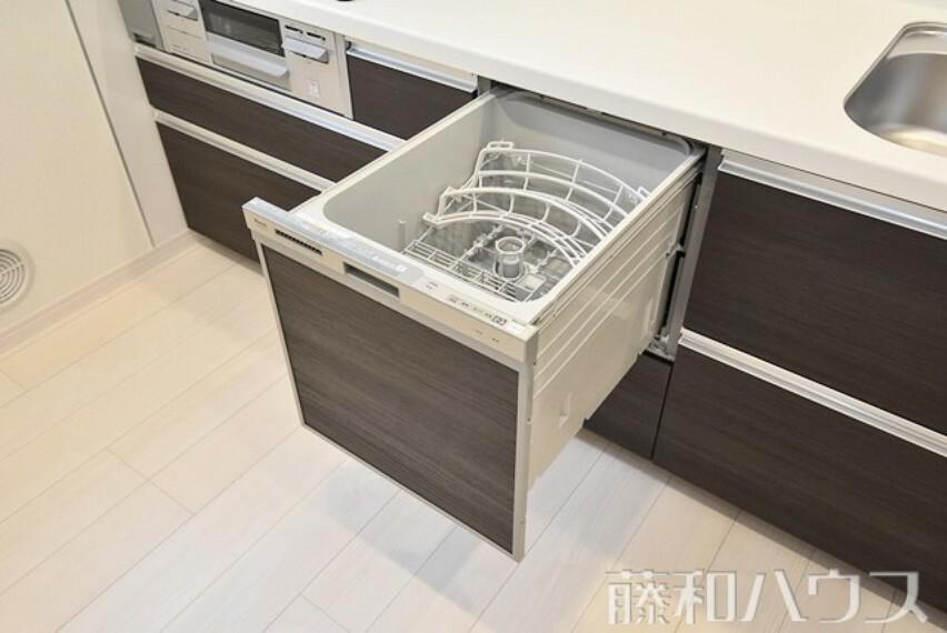 キッチン 2号棟 食洗機 【名古屋市千種区若水3丁目】