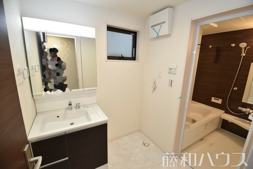 洗面化粧台 2号棟 洗面室 【名古屋市千種区若水3丁目】