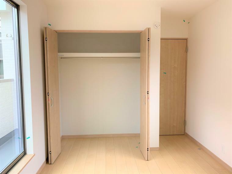 収納 各部屋収納付きなので、お片付けもスッキリできますね!