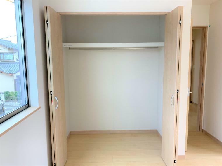 収納 ご家族の思い出もたっぷりしまっておける収納力!居室を広く使うことができます。