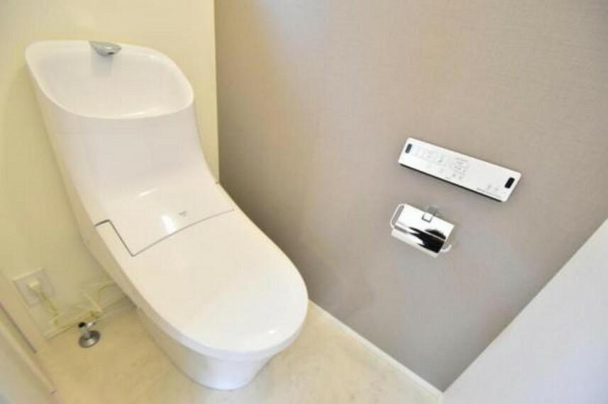 トイレ 清潔感溢れる多機能性トイレ