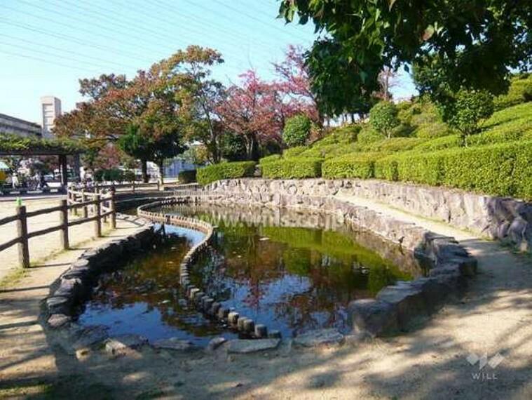 公園 上の池公園の外観