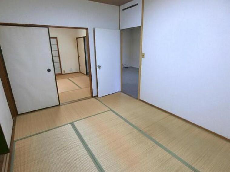 和室2部屋は続き間になっております。