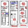 間取り図 4LDK/家事動線バッチリ/シューズインクローゼット付/カウンターキッチン/全居室収納