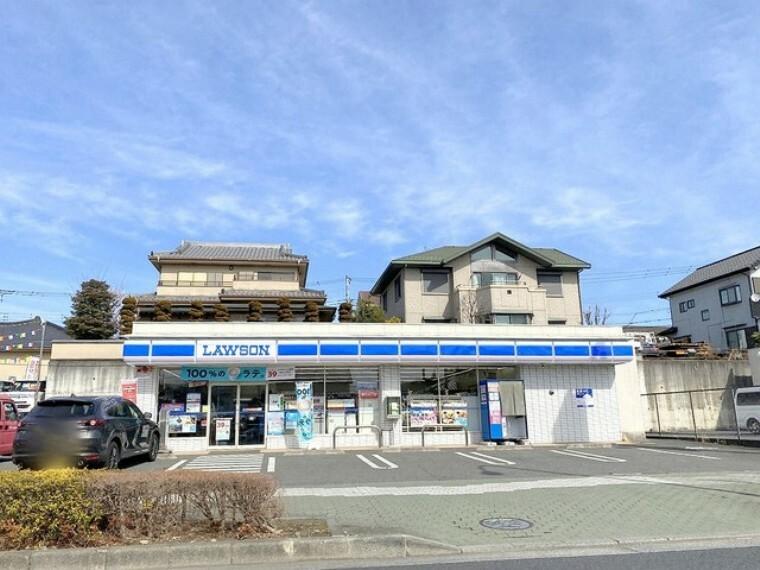 コンビニ ローソン LTF秋川野辺店