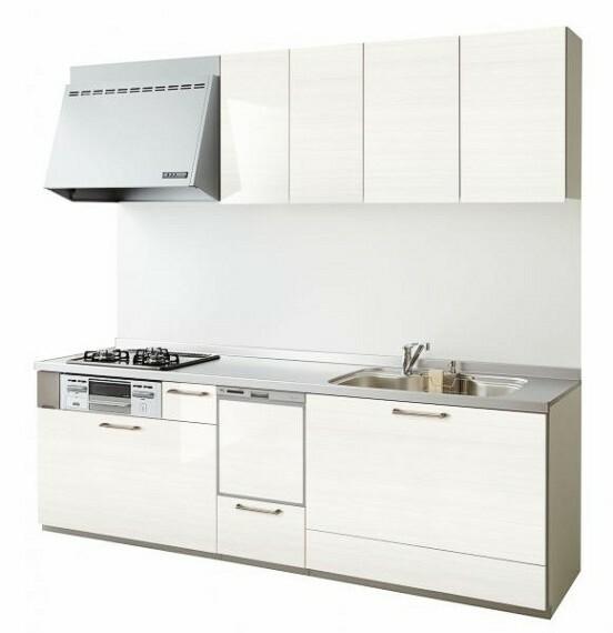 キッチン 【同仕様写真】キッチンは永大産業製の新品のシステムキッチンに交換予定です。新品のシステムキッチンで毎日のお料理も楽しくなりますね。