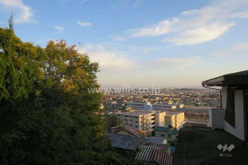 現況写真 2階からの眺望(南方向)[2020年11月15日撮影]
