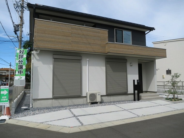 外観写真 一宮奥町A号棟、全12区画の新築分譲が登場しました!