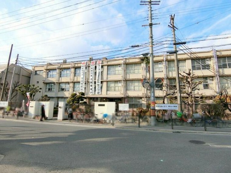 中学校 大阪市立西淀中学校