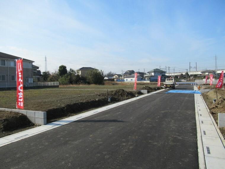 現況写真 北側5m開発道路