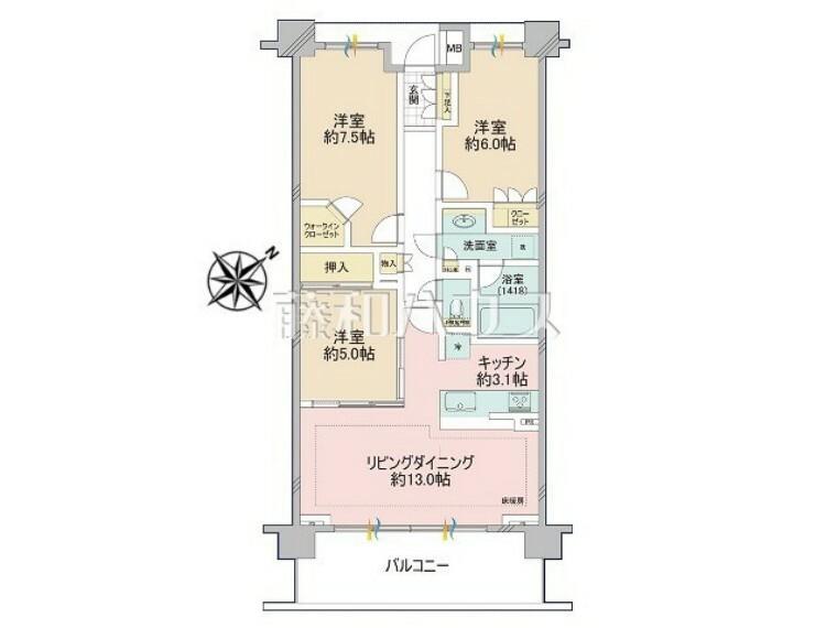 間取り図 間取図 【レーベン多摩永山】
