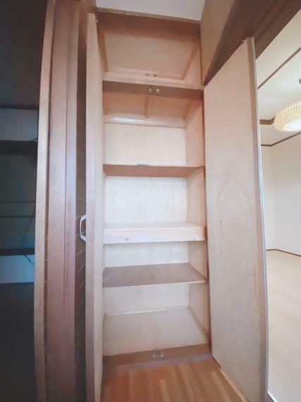収納 2階廊下、収納です。