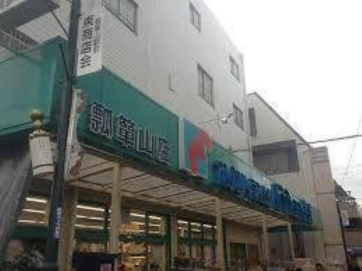 周辺 万代瓢箪山店徒歩13分(約970m)