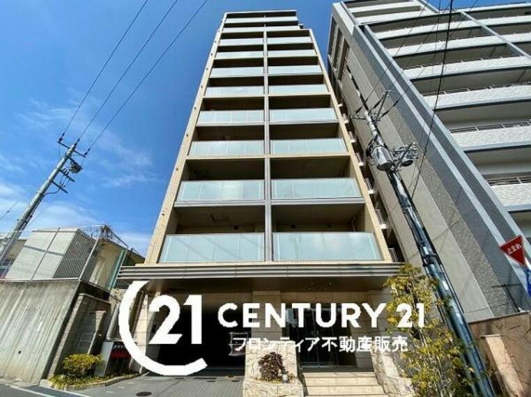 外観写真 11階建てのお部屋は9階部分です