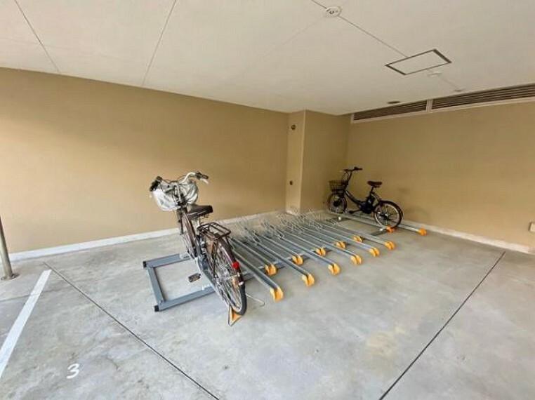 駐輪場 駐輪場もございます