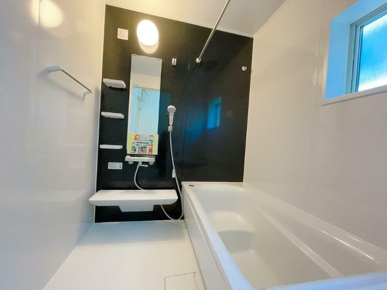 浴室 1坪タイプの浴室です。