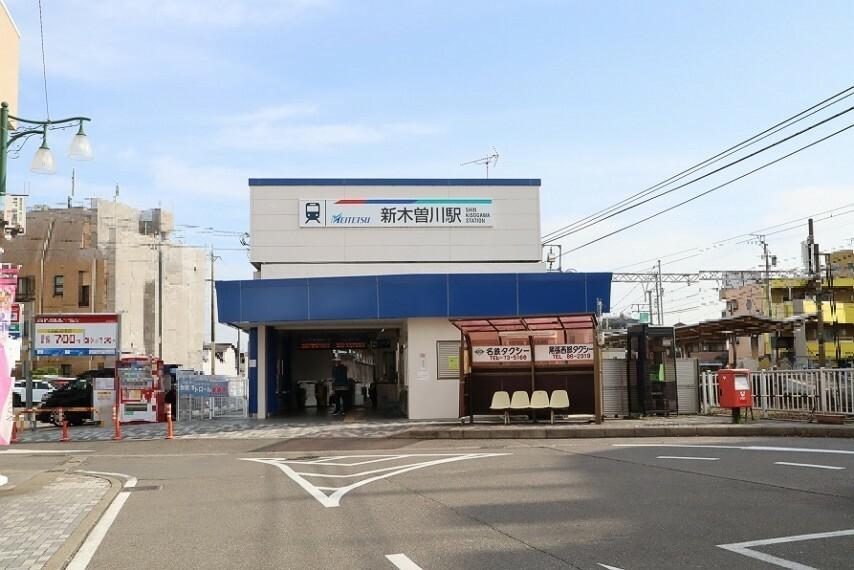 名鉄名古屋本線 新木曽川駅