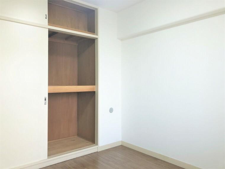 収納 全居室に収納が完備されています。衣類や雑貨、子供のおもちゃまでスッキリ収納できて片付いたお部屋をキープできます!