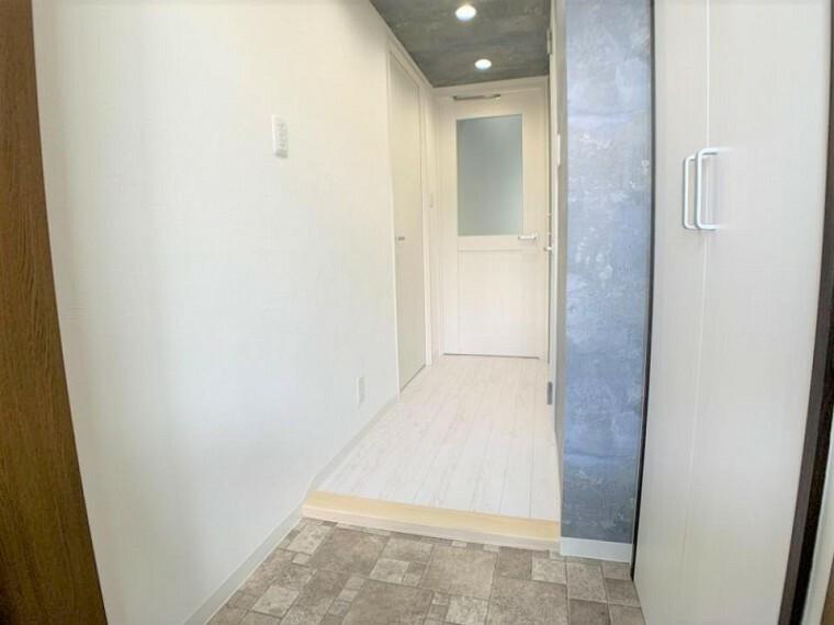 玄関 清潔感のあるキレイな玄関