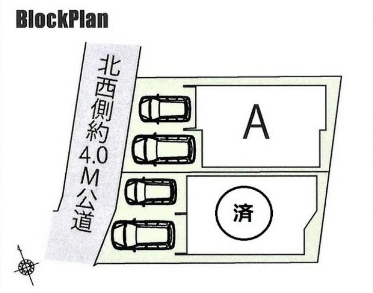 区画図 湘南海岸公園駅から徒歩5分、湘南モノレールで大船にも出られます。