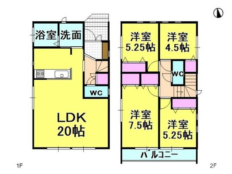 間取り図 3号棟 間取図 【名古屋市千種区新西1丁目】