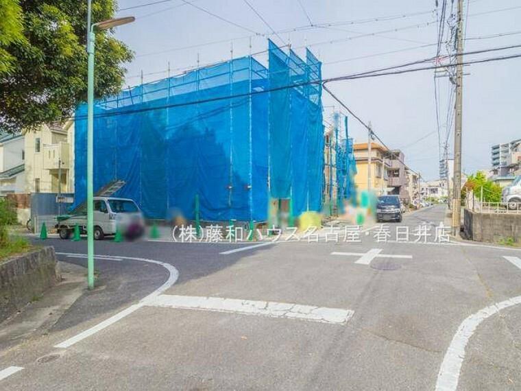 現況写真 5/12撮影 前面道路含む現地写真