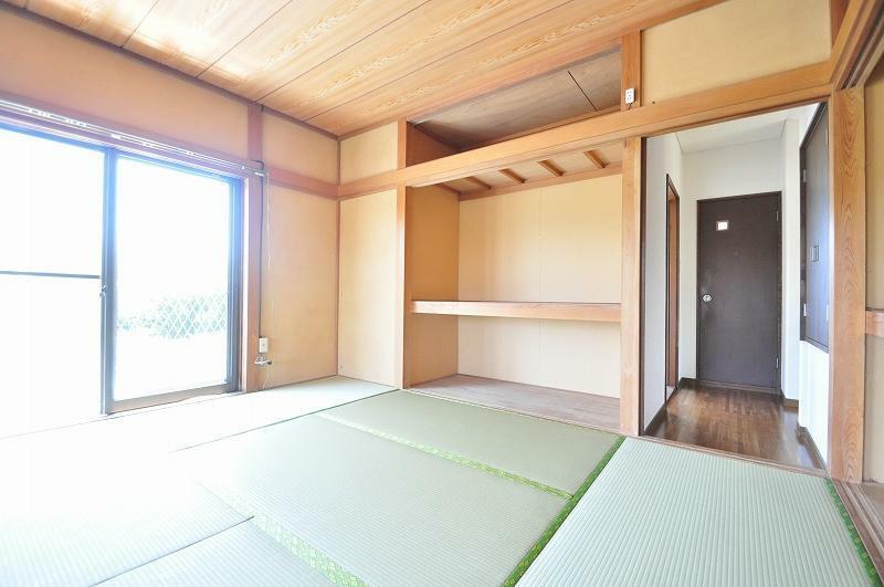 和室 2階和室1(建具はこれから入ります)