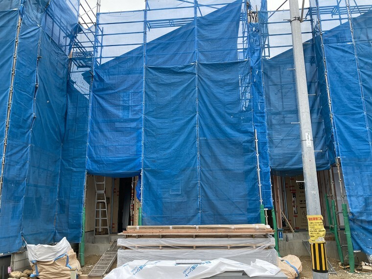 現況外観写真 現在、建設中(5月24日撮影)