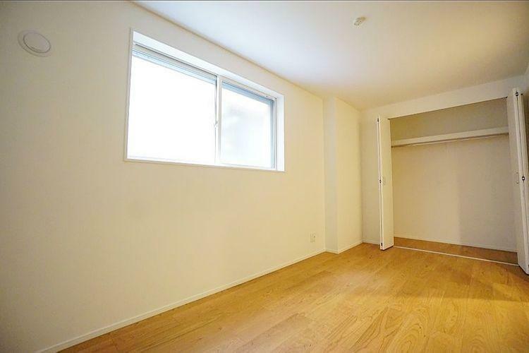 各居室に十分な収納スペースを確保。どのお部屋でも室内を無駄なく使えます。