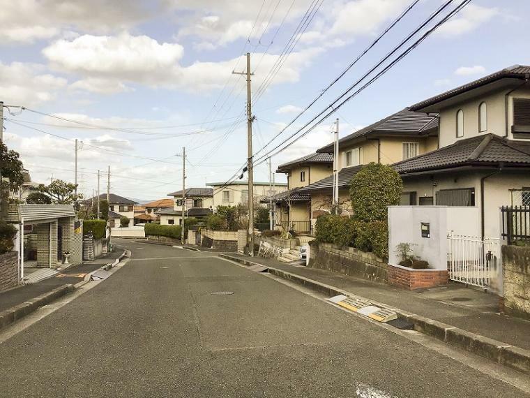現況写真 前面道路は10mあります
