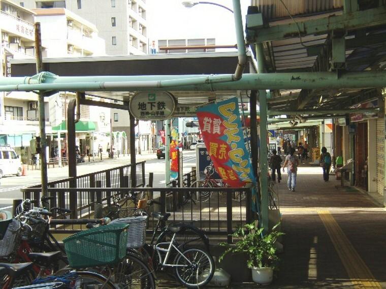 市営地下鉄線 板宿駅