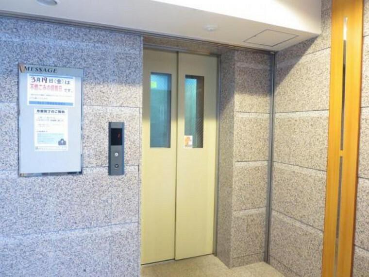 洗面化粧台 エレベーターがあるので、各階間の移動も安心です。重い荷物の運び出しもラクチンですね。