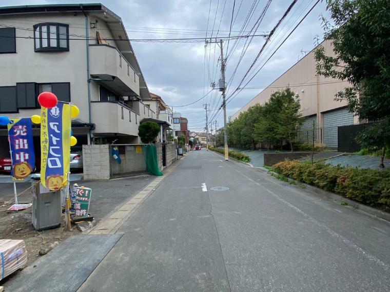現況写真 前面道路の様子