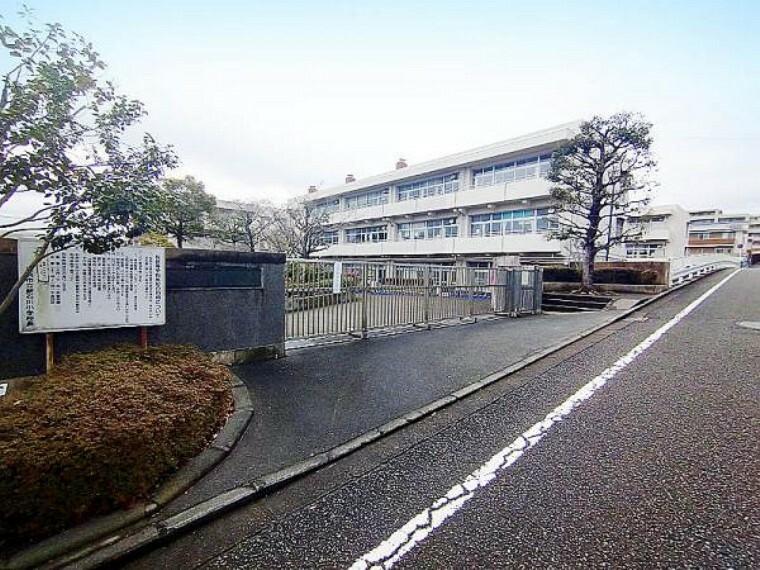 小学校 新石川小学校