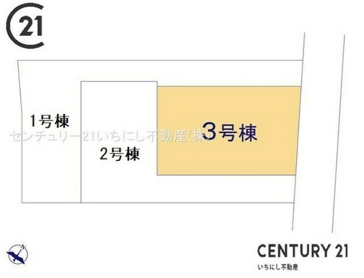間取り図・図面 3号棟