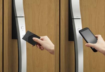 玄関 カードキー(スマートフォン対応)