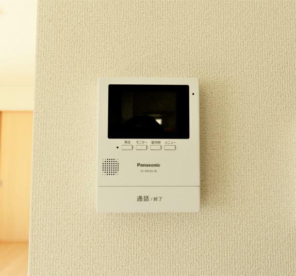 防犯設備 TVモニターつきインターフォン