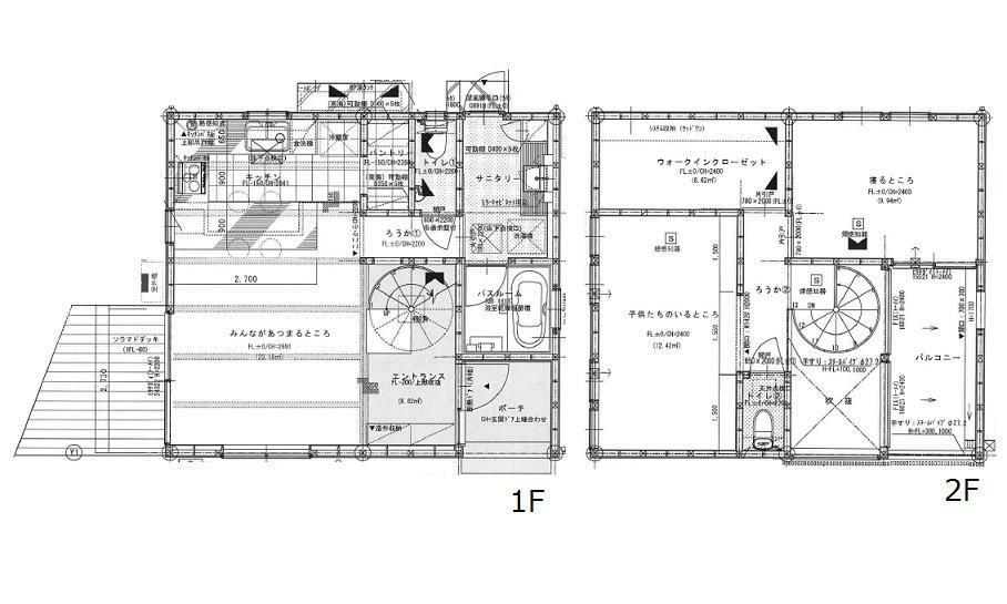 間取り図 3480万円、3LDK+S(納戸)、土地面積60.95m2、建物面積95.98m2