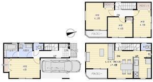 フリージアホームのすいっちシリーズ 朝霞市本町2丁目 新築戸建 全1棟