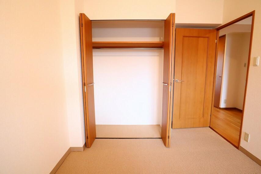 収納 クローゼット 全居室収納付き  お部屋がスッキリとお使いいただけます