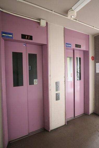 エレベーター お荷物が多くてもエレベーターがあるので安心ですね