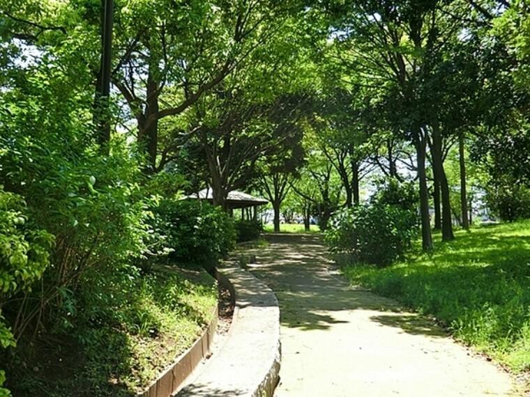 公園 仏向行坐谷公園 ランドマークタワーを中心とした夜景が楽しめる公園です。