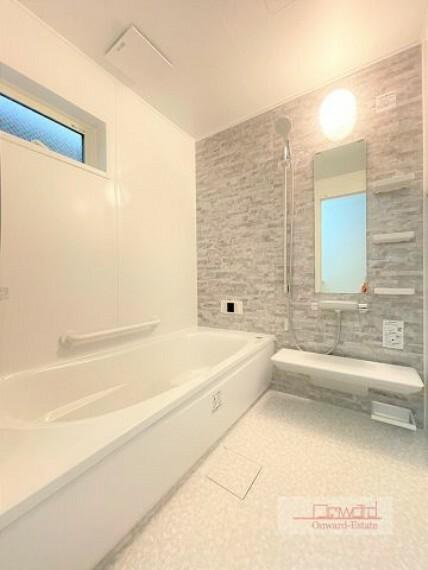 浴室 清潔感のある綺麗な浴室! 1日の疲れをしっかりと落とせます!