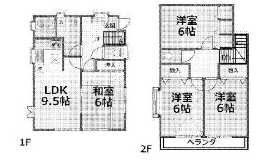 間取り図 4LDK戸建