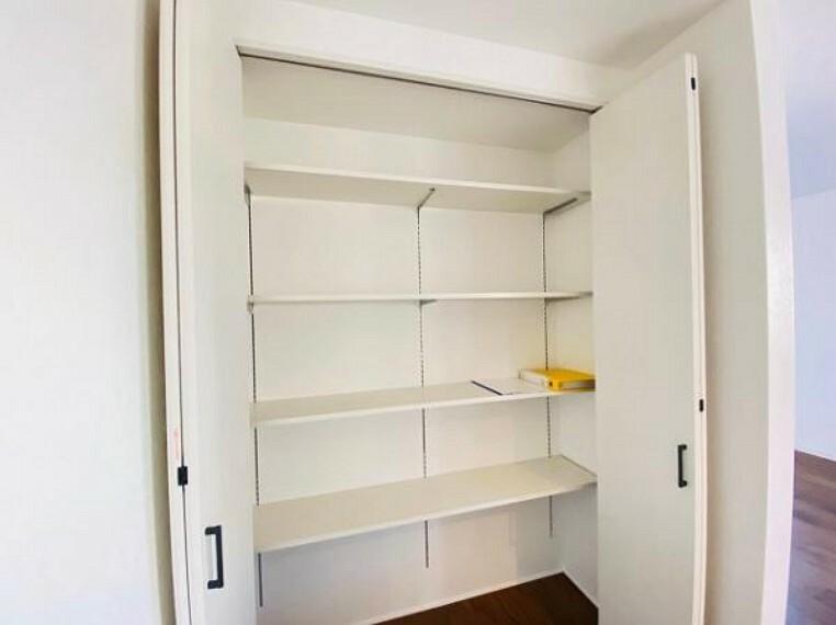 収納 収納も充実しておりお部屋を広くお使いいただけます