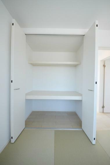 収納 3階和室 収納