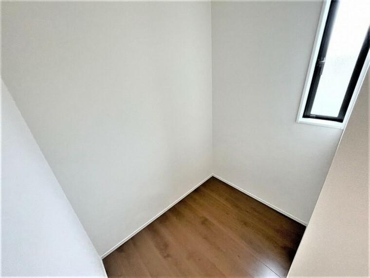 収納 2階廊下にも収納スペースがあります^^活用できそうですね^^